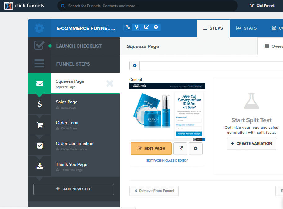 Clickfunnels For Ecommerce Can Be Fun For Anyone
